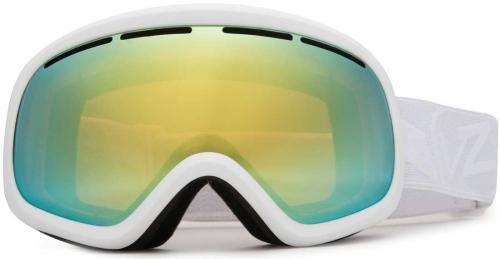 Von Zipper Skylab Snow Goggles - Whiteout Satin / Gold Chrome