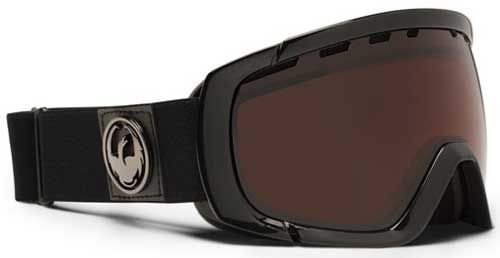 Dragon Rogue Snow Goggles - Jet Stealth / Jet Polarized