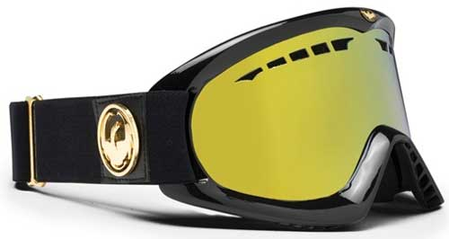 Dragon DX Snow Goggles - Jet Gold / Gold Ionized