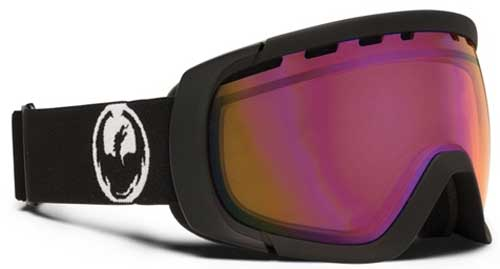 Dragon Rogue Snow Goggles - Coal / Pink Ionized