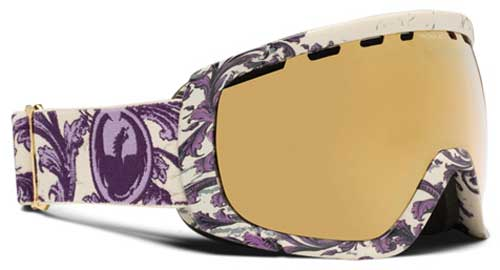 Dragon Rogue Snow Goggles - Victorian / Gold Ionized