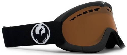 Dragon DXS Snow Goggles - Coal / Amber