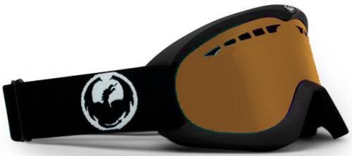 Dragon DX Snow Goggles - Coal / Amber