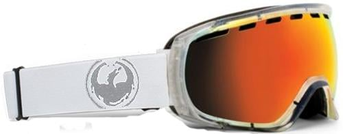 Dragon Rogue Snow Goggles - Skull Candy Co-Op / Clear / Red Ionized