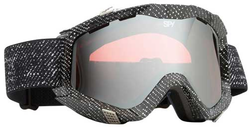 Spy Zed Snow Goggles - Grey Denim / Rose Silver Mirror