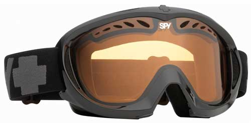 Spy Targa II Snow Goggles - Shiny Black / Persimmon