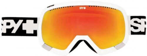 Spy Platoon Snow Goggles - White / Bronze / Red Spectra