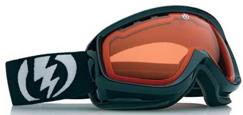 Electric EGK Snow Goggles - Gloss Black / Orange