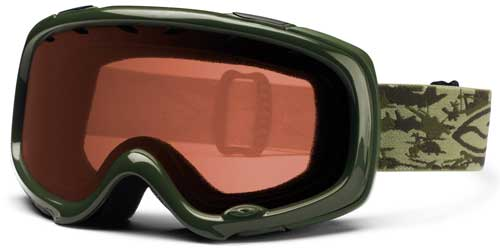 Smith Optics Gambler Pro Snow Goggles - Army Camo / RC36