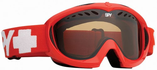 Spy Targa Mini Snow Goggles - Red / Bronze