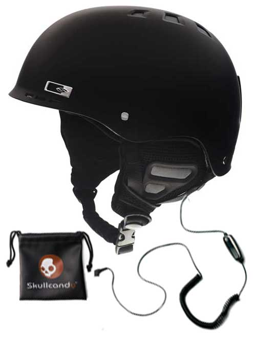 Smith Optics Holt Audio Snow Helmet - Matte Black