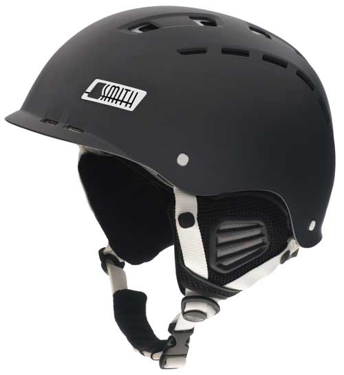 Smith Optics Hustle Snow Helmet - Matte Graphite