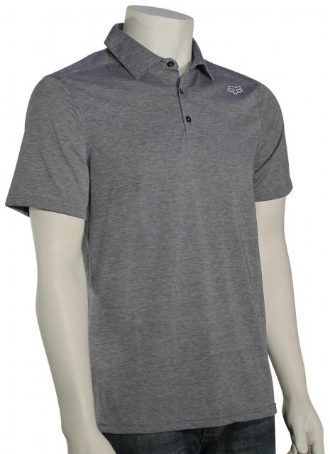 Fox Rookie Polo - Heather Graphite