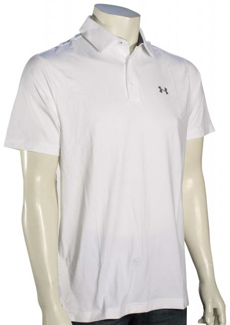 Under Armour Playoff Polo - White / Graphite