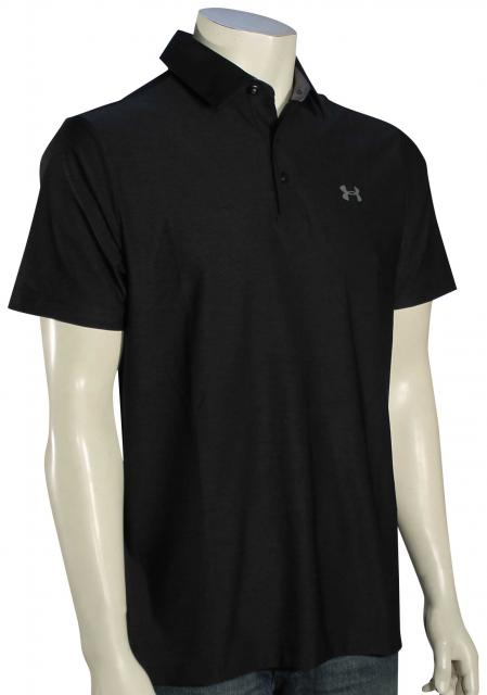 Under Armour Playoff Polo - Black / Graphite