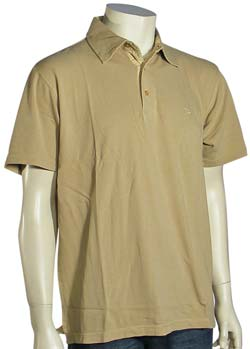 Quiksilver Waterman Sea Cliffs Polo - Tan