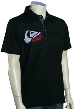 Quiksilver Grittles Polo - Black
