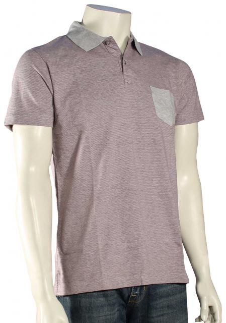 Quiksilver Idylic Coast Polo - Light Grey Heather
