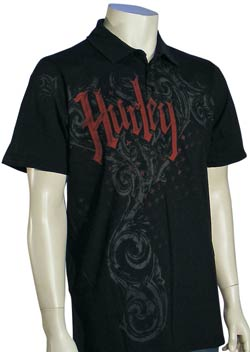 Hurley Dusted Polo - Black