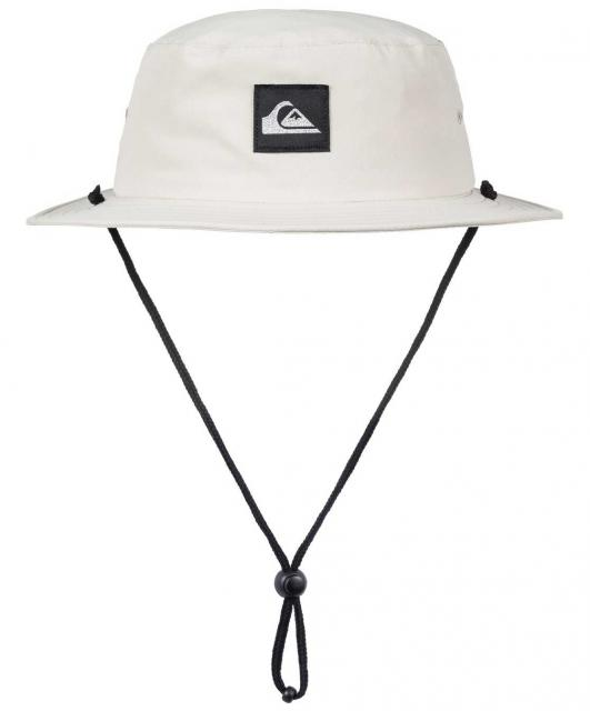 Quiksilver Bushmaster Light Surf Hat - Oatmeal