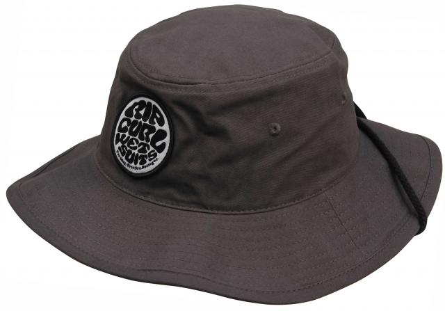 Rip Curl Palm Bushmaster Surf Hat - Charcoal For Sale at Surfboards.com  (1108712) 58260e46823