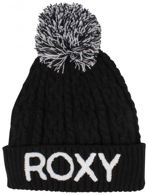 Roxy Fjord Beanie - True Black