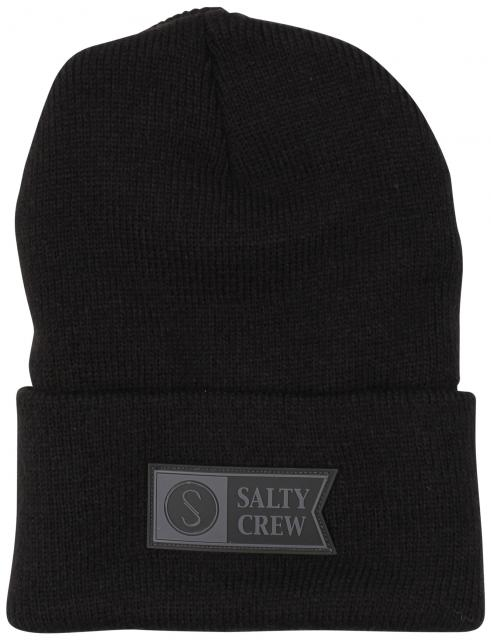 Salty Crew Step Up Beanie - Black