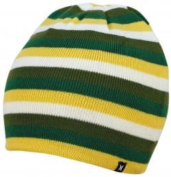 Hurley One and Only Stripe Beanie - Grenade
