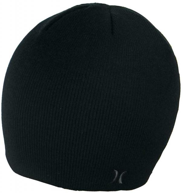 Hurley One and Only Beanie - Black / Black