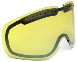 Von Zipper Sizzle Replacement Lens - Yellow