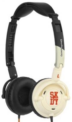 Skullcandy Lowrider Headphones - Black / Bone