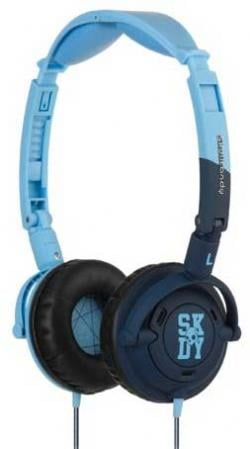 Skullcandy Lowrider Headphones - Light Blue / Navy