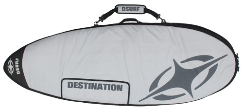 Destination Surf 142 Travel Bag - Grey