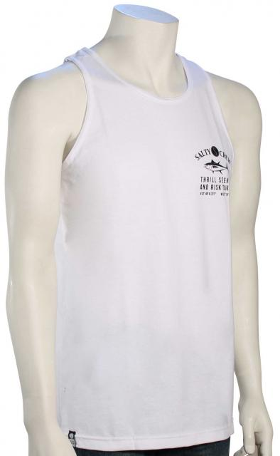 Salty Crew Markets Tank - White