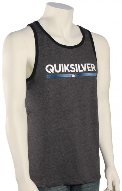 Quiksilver Tough Luck Tank - Charcoal Heather