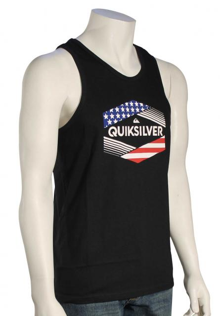 Quiksilver Stars & Stripes Tank - Black