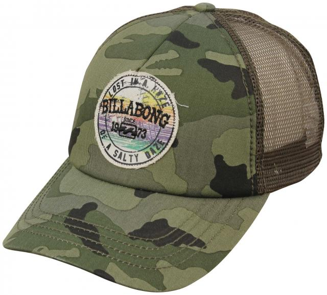 billabong geo s trucker hat camo for sale