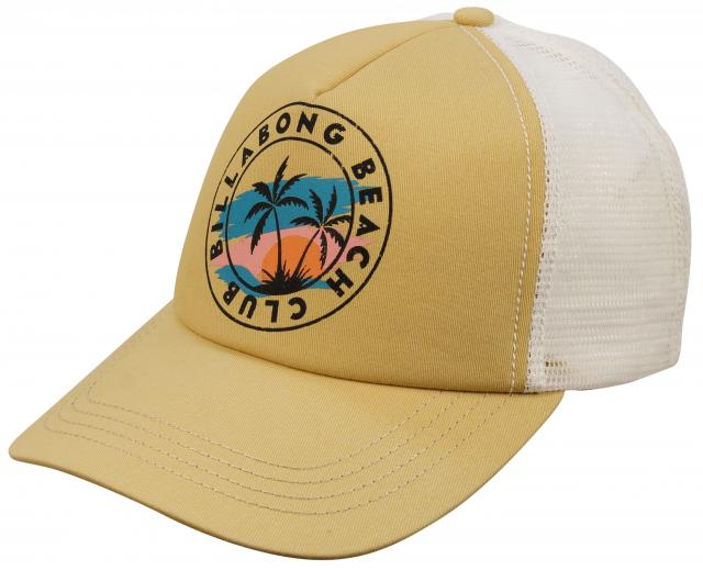 Billabong Aloha Forever Women's Trucker Hat - Bright Gold