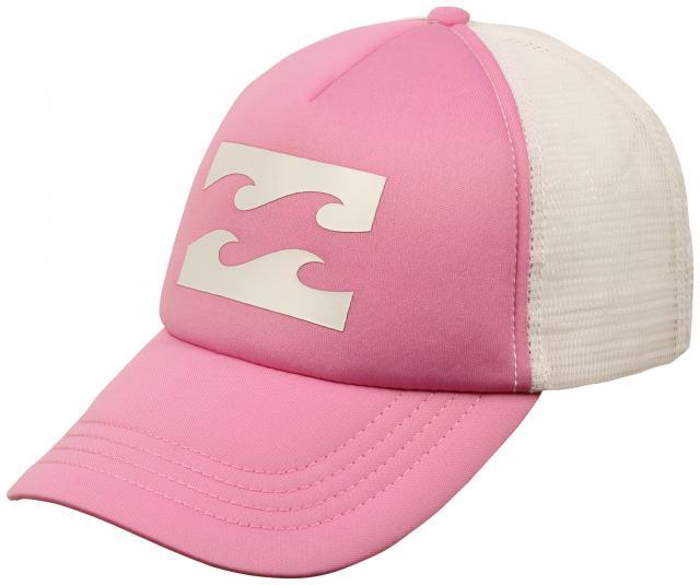 Billabong Wave Logo Women s Trucker Hat - Pretty Pink For Sale at  Surfboards.com (11844188) db0732b49e64