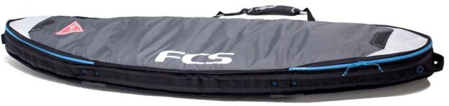 FCS Shortboard Double Travel Bag - Grey