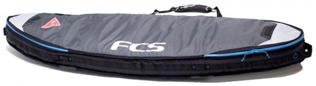 FCS Shortboard Triple Travel Bag - Grey