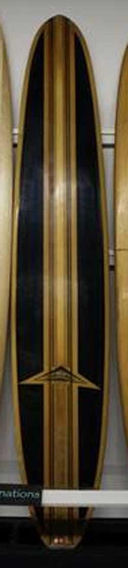 Used Campbell Big Gun Longboard - 9'6