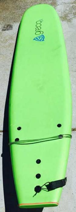 Used Greco Soft Top Longboard - 9'
