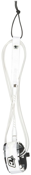 Creatures Of Leisure Lite Surfboard Leash - White / Clear
