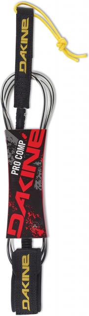 DaKine Kainui Pro Comp Surfboard Leash - Black / Clear