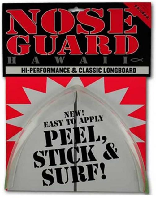 Surf Co Longboard Nose Guard - Clear