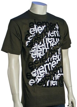 Zoom for Element Scaffold T-Shirt - Army