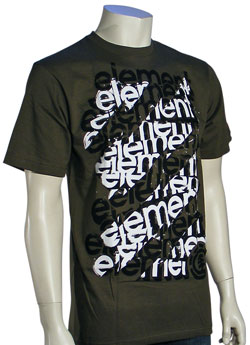 Element Scaffold T-Shirt - Army
