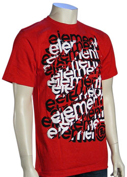 Element Scaffold T-Shirt - Red