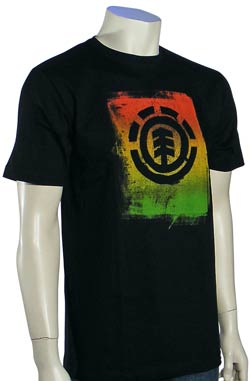 Element Rough T-Shirt - Black